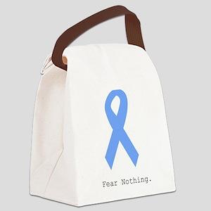 Light Blue: Fear Nothin Canvas Lunch Bag