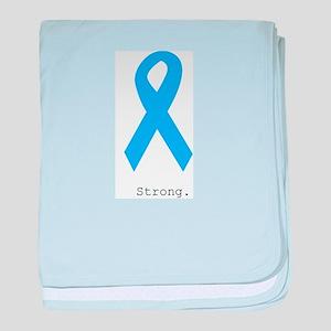 Light Blue: Strong baby blanket