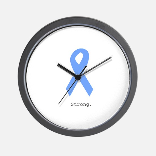 Light Blue: Strong Wall Clock