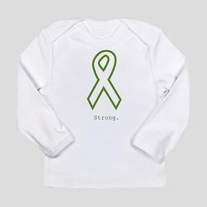 Green: Strong Long Sleeve T-Shirt