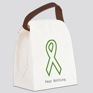 Green: Fear Nothing Canvas Lunch Bag