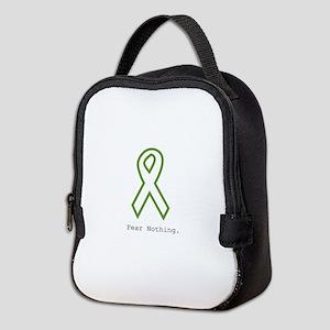 Green: Fear Nothing Neoprene Lunch Bag