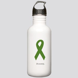Green Ribbon: Strong Stainless Water Bottle 1.0L
