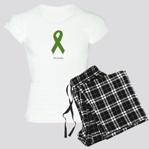Green Ribbon: Strong Women's Light Pajamas