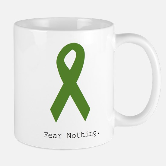 Green: Fear Nothing Mugs