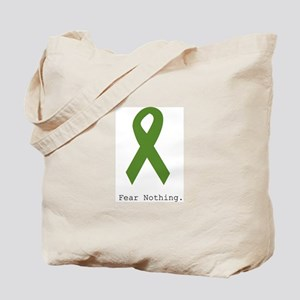 Green: Fear Nothing Tote Bag