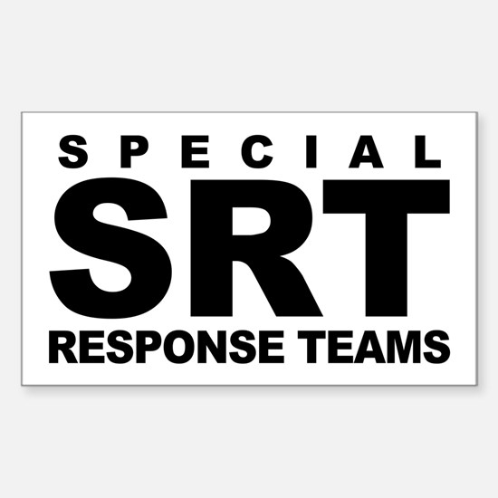 SRT Rectangle Decal