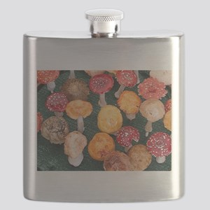Mushroom garden ornaments Flask