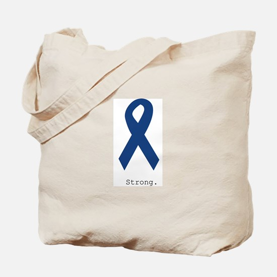 Navy Blue: Strong Tote Bag