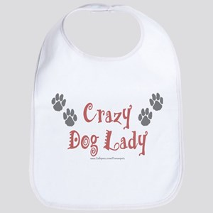 Crazy Dog Lady Bib