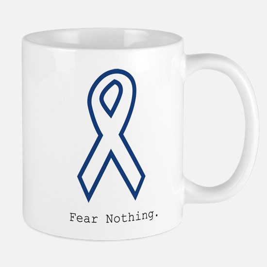 Navy Blue: Fear Nothing Mugs