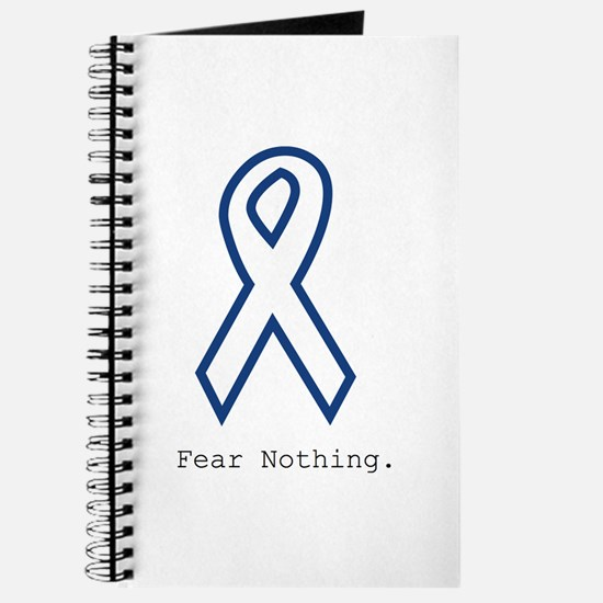 Navy Blue: Fear Nothing Journal