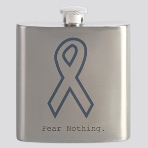Navy Blue: Fear Nothing Flask