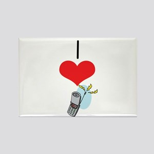 Cell Phone Rectangle Magnet