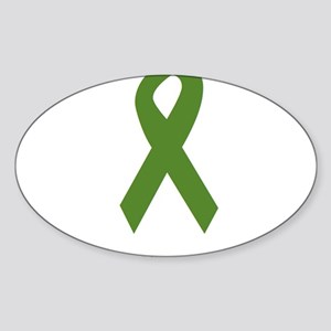 Green Ribbon: Strong Sticker
