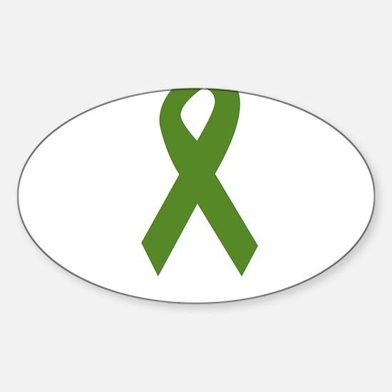 Green Ribbon: Strong Decal