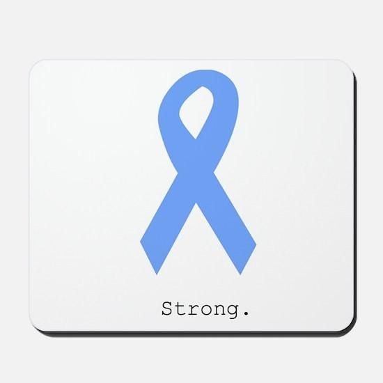 Light Blue: Strong Mousepad