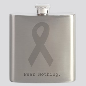 Silver: Fear Nothing Flask