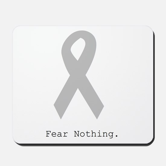 Silver: Fear Nothing Mousepad