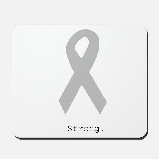 Silver: Strong Mousepad