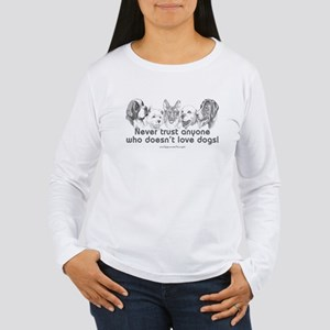 Dog Love Women's Long Sleeve T-Shirt