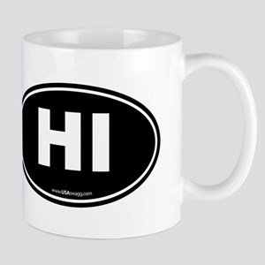 Hawaii HI Euro Oval Mug