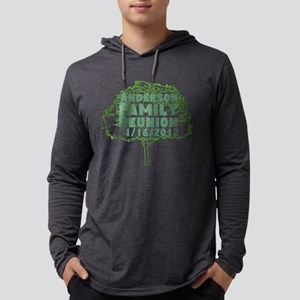 Personalized Family Reunion Mens Hooded Shirt