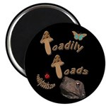 """Toadily Toads 2.25"""" Magnet (10 pack)"""