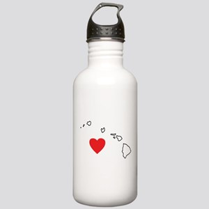 I Love Hawaii Stainless Water Bottle 1.0L
