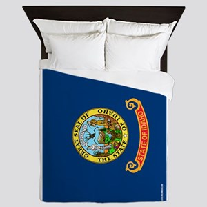 Idaho State Flag Queen Duvet