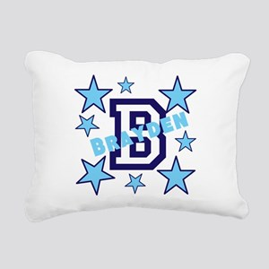 Personalized Kids Name Rectangular Canvas Pillow