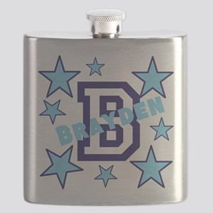 Personalized Kids Name Flask