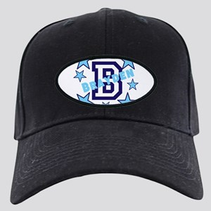 Personalized Kids Name Black Cap with Patch