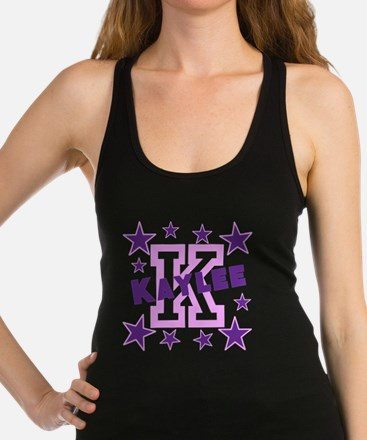 Personalized Kids Name Racerback Tank Top