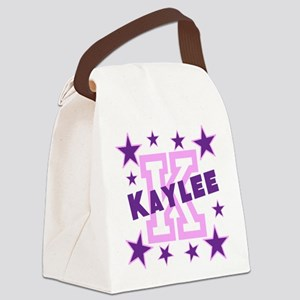 Personalized Kids Name Canvas Lunch Bag