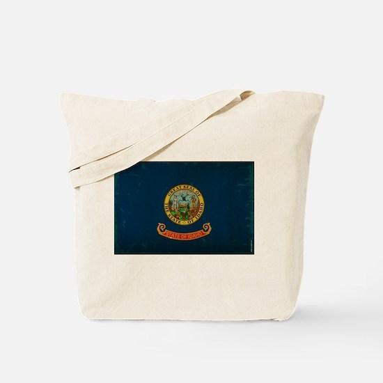 Idaho State Flag VINTAGE Tote Bag