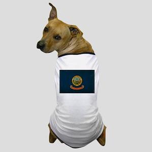 Idaho State Flag VINTAGE Dog T-Shirt