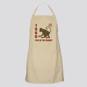 1968 Year of The Monkey Apron
