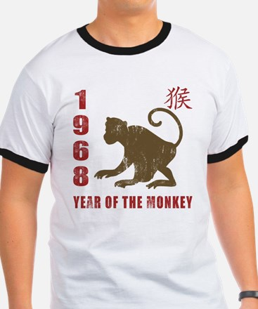1968 Year of The Monkey T