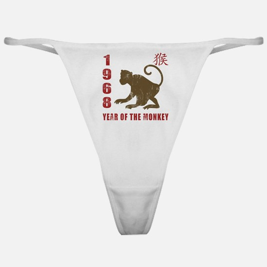 1968 Year of The Monkey Classic Thong