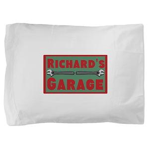 Personalized Garage Pillow Sham