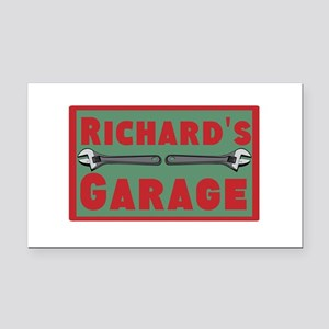 Personalized Garage Rectangle Car Magnet