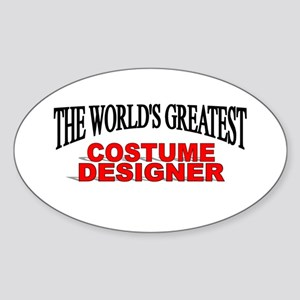 """The World's Greatest Costume Designer"" Sticker (O"