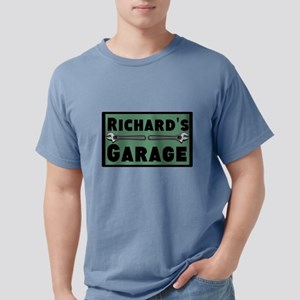 Personalized Garage Mens Comfort Colors Shirt