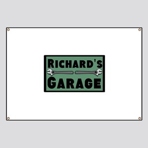 Personalized Garage Banner