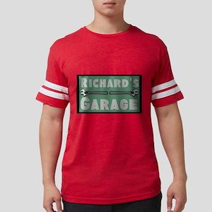 Personalized Garage Mens Football Shirt