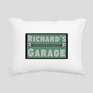 Personalized Garage Rectangular Canvas Pillow