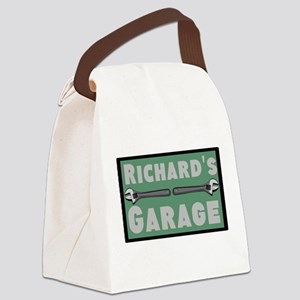 Personalized Garage Canvas Lunch Bag