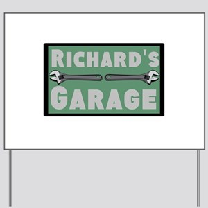 Personalized Garage Yard Sign