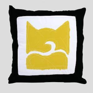 Windclan YELLOW Throw Pillow